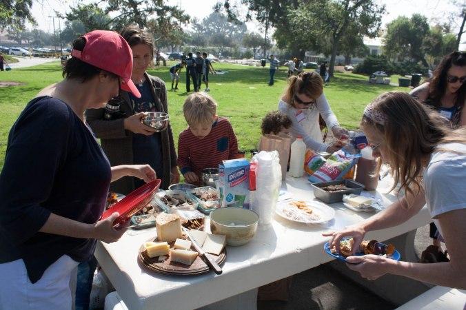 families nourishing their children