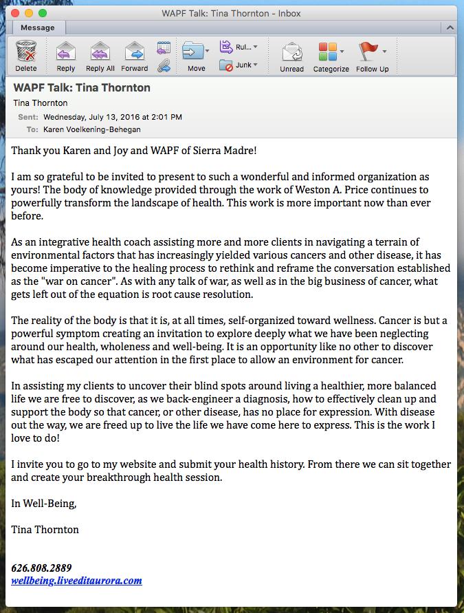TThornton WAPF letter